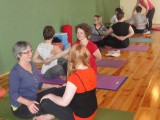 31. 2012 IYA Teacher refresher day – partner yoga